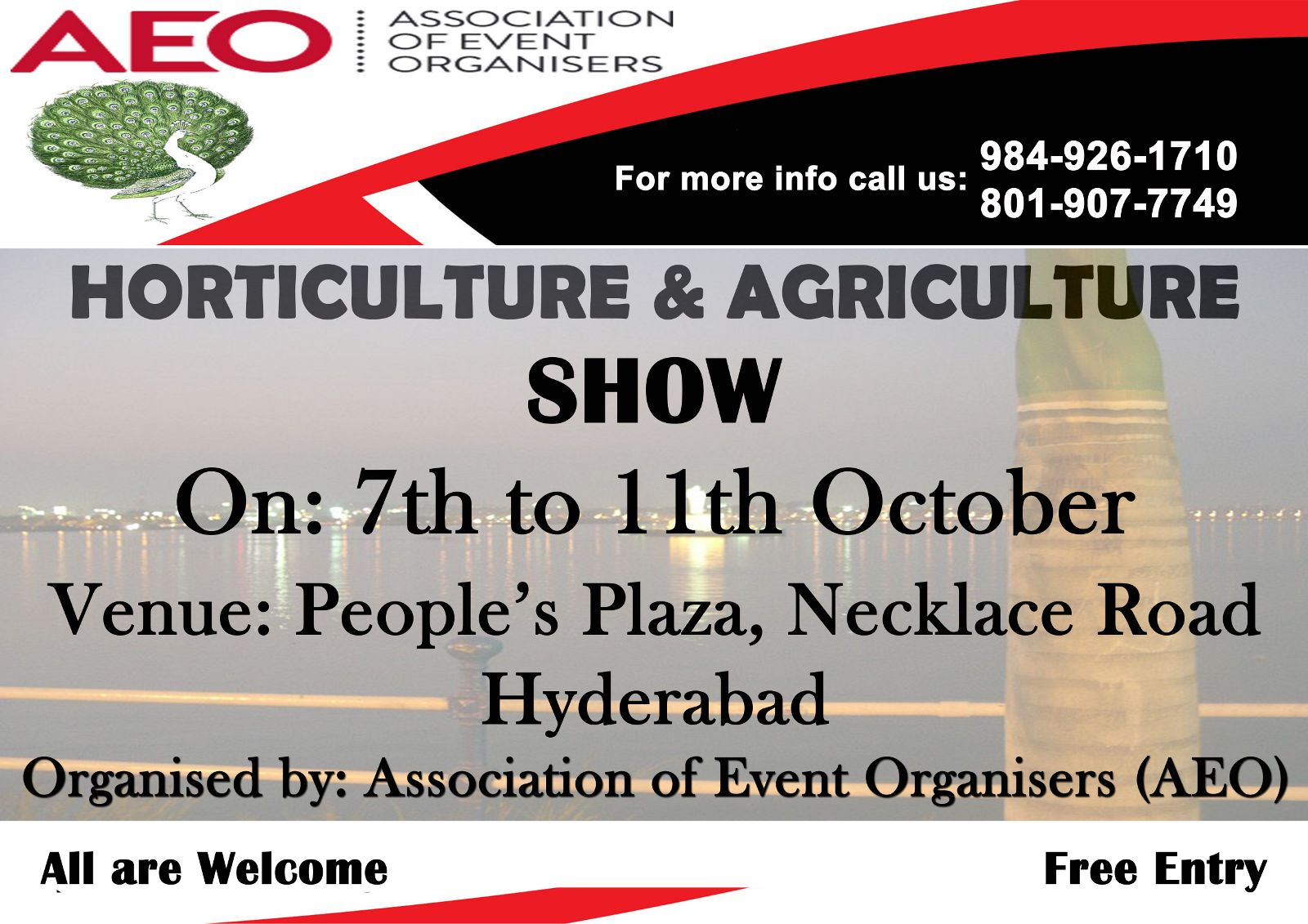 Horticluture & Agriculture Show in Hyderabad